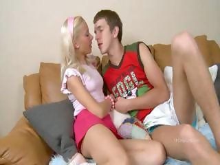 Blonde from russia copulated hard