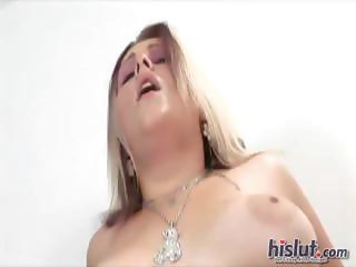 Karin loves sucking cock