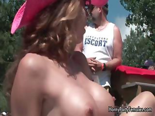 Big tits babe showing her stripper moves part2