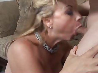 Mature horny lady fucked and spunked
