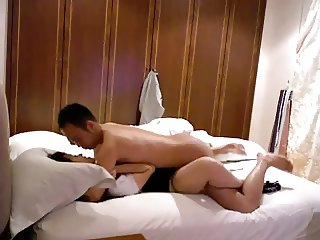 Sexy asian bed time