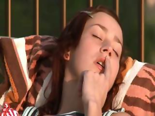 Beautiful russian girl fingering
