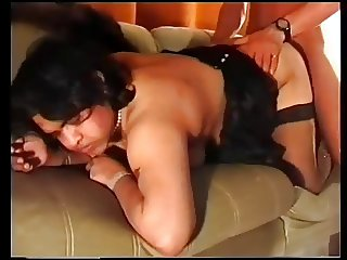 Chubby Indian Wife Fucks Husband and Brother In-law