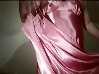 Rose Satin Nightie 2
