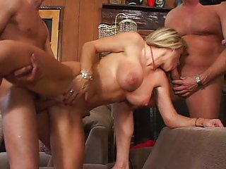 Double penetration is what she likes best