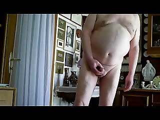 Grandpa undressing