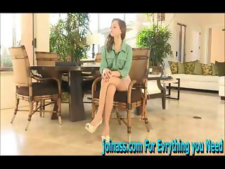 Riley on a chair with your fingers it has strong squirting orgasm with visible vaginal contractions