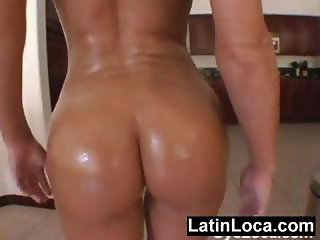 Latin chick with super ass fucking