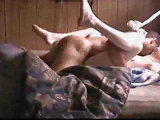 Tied To The Bed and Shoved Full of Black Cock