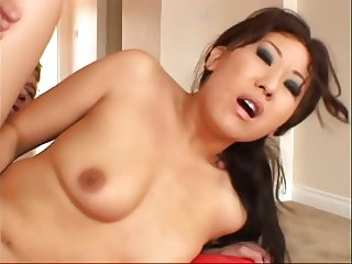 Sexy young  Asian slut with plump ass gets fucked
