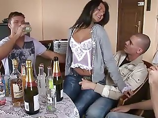 Wife with friends