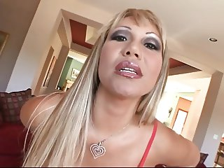 Horny big tits hottie banged hard