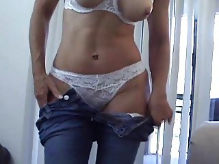 Moms friend Catches You Jerking Off