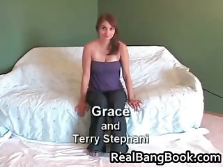 Grace and Terry Stephani having fine part1