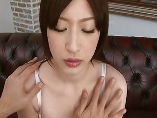 Riko has her pretty pussy toyed