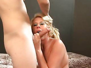Hot Busty Blonde MILF Cougar