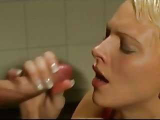 little blowjob handjob cumshot fantasy - with Angel Dark