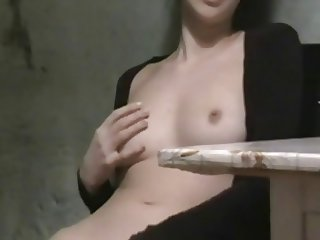 Amateur brunette homemade sex