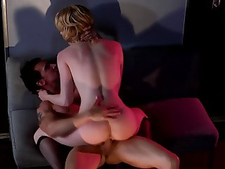 Lily Labeau fuck in bar