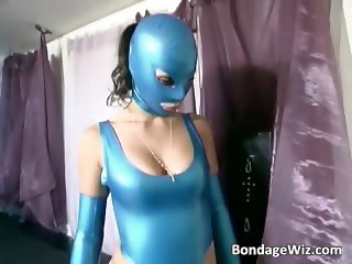 Two hot girls in latex dominated part6