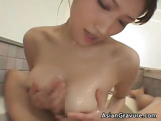 Big tits real asian Nayuka gets her part3