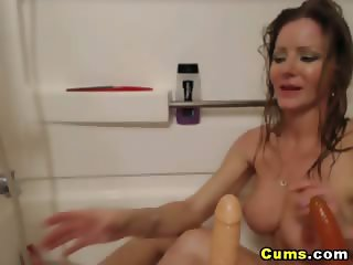 Hot Blonde Shower Room Playtime HD