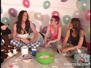 Truth or dare sexgames with college coeds