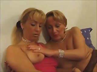 Two French Ladies Having Fun