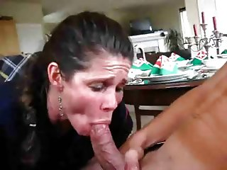 Boy Cums Too Fast, MILF Tries To Save The Scene