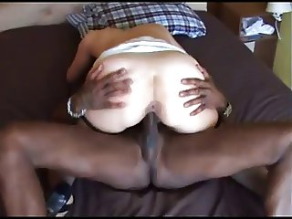 she takes the black cock deep