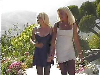 blond tgirls eating each other