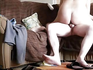 Home cowgirl with creampie
