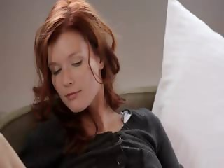 Incredible redhead masturbate soft skin