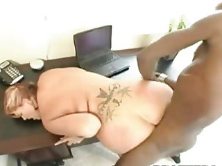 Doctor BBW 38DD Interracial Scene