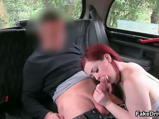 Busty redhead slut goes crazy sucking part6