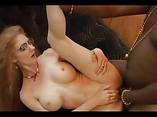 Mature Redhead Annie In Glasses Gets Buttfucked