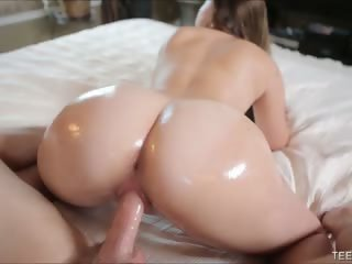 Incredibly Juicy Teen Booty Creampied
