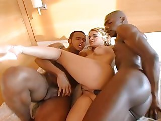 Hot Interracial Trio...F70