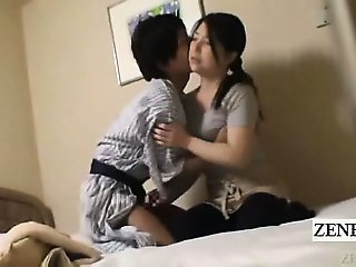 Subtitle Japanese milf handjob hotel massage gone wrong