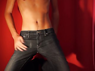 Two jeans and a hot boy