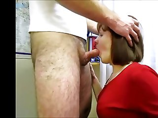 A very nice Mouthfuck from the Wife