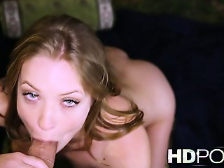 HD POV She strips then begs you to cum inside her warm wet squirting pussy