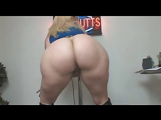 Monica PAWG Booty