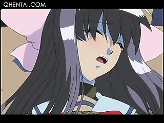 Teen hentai maid pussy licked and fucked for the first time
