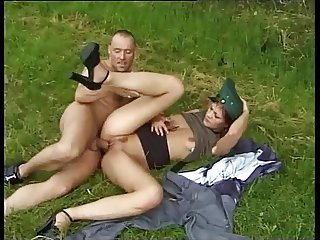 German Police Officer gets fucked