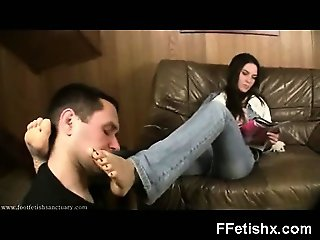 Horny Soothing Foot Fetish Milf Domination