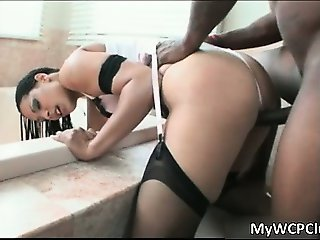 Sexy ebony hoe Jazmine Cashmere blows part5