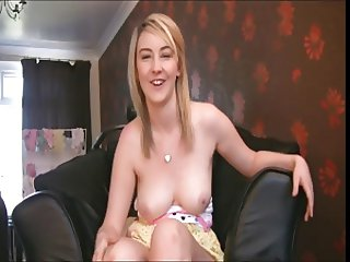 Wank for British babe. JOI