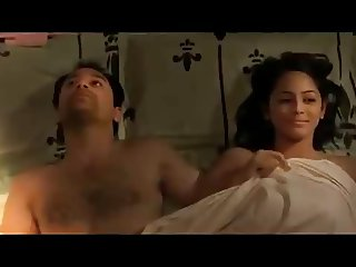 South Indian actress Subhiksha hot softcore bed scene
