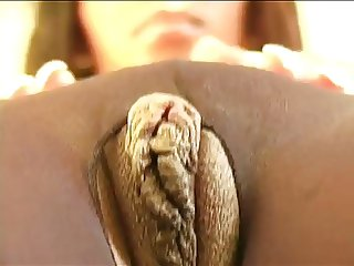 tanaia excites her lovely pussy